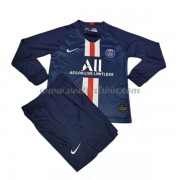 Paris Saint Germain PSG Voetbaltenue Kind 2019-20 Thuisshirt Lange Mouw..